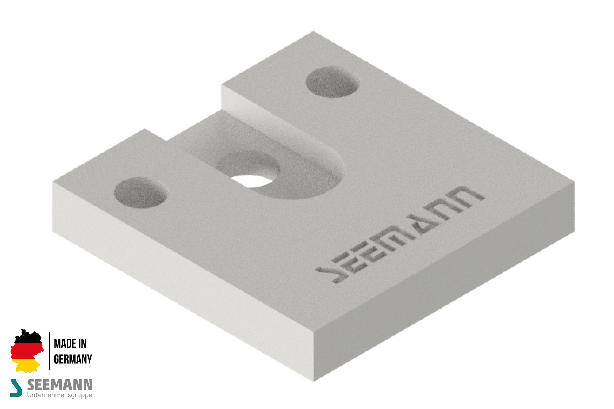 Klemmplatte für Klemmkopf 60 mm