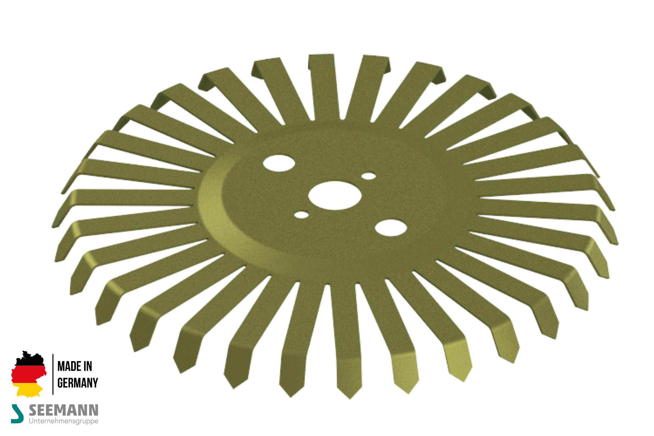 Titan-Stanzteller mit 30 Kontakten für Wechselflansch