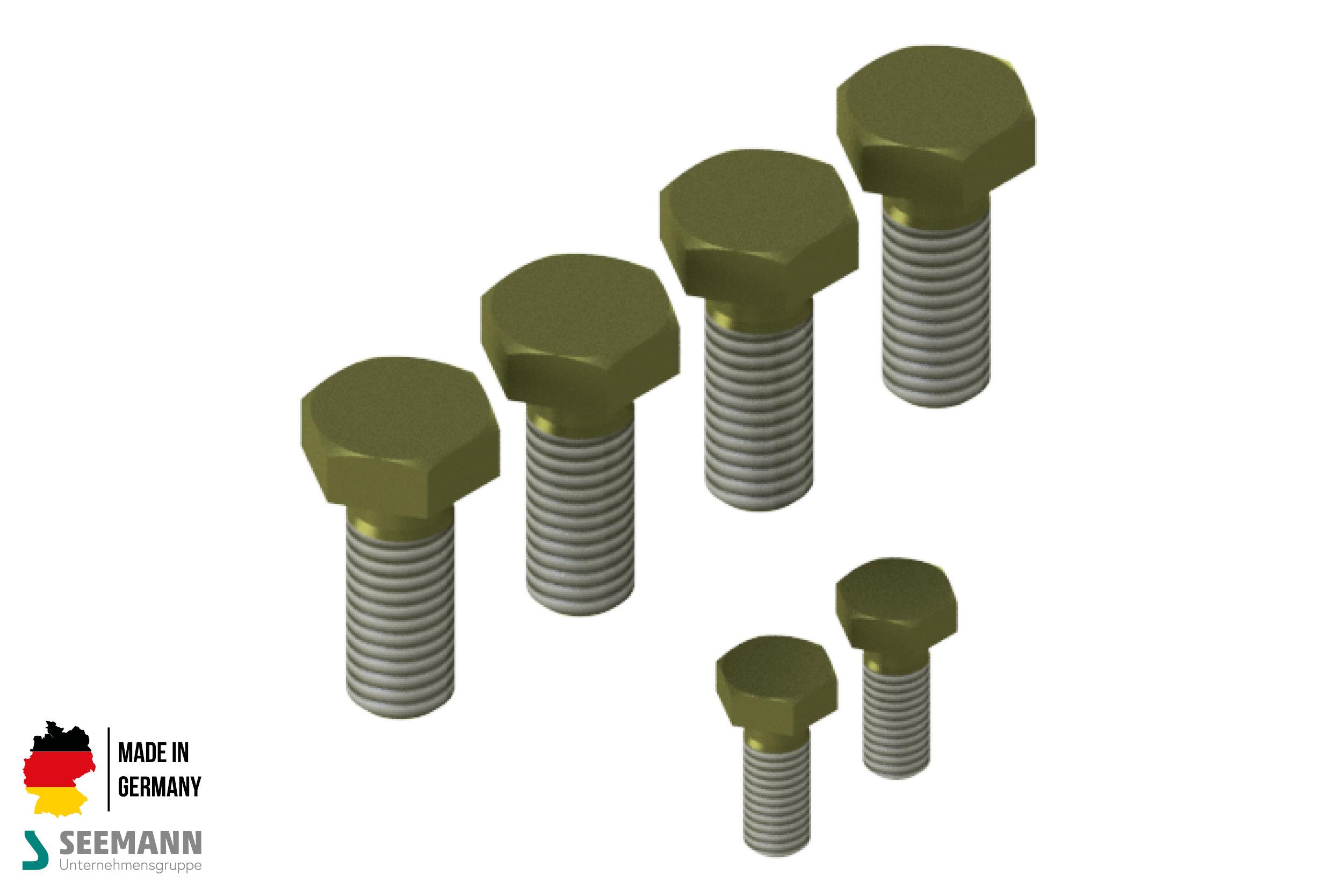 Titan-Schraubensatz für Tellerfansch