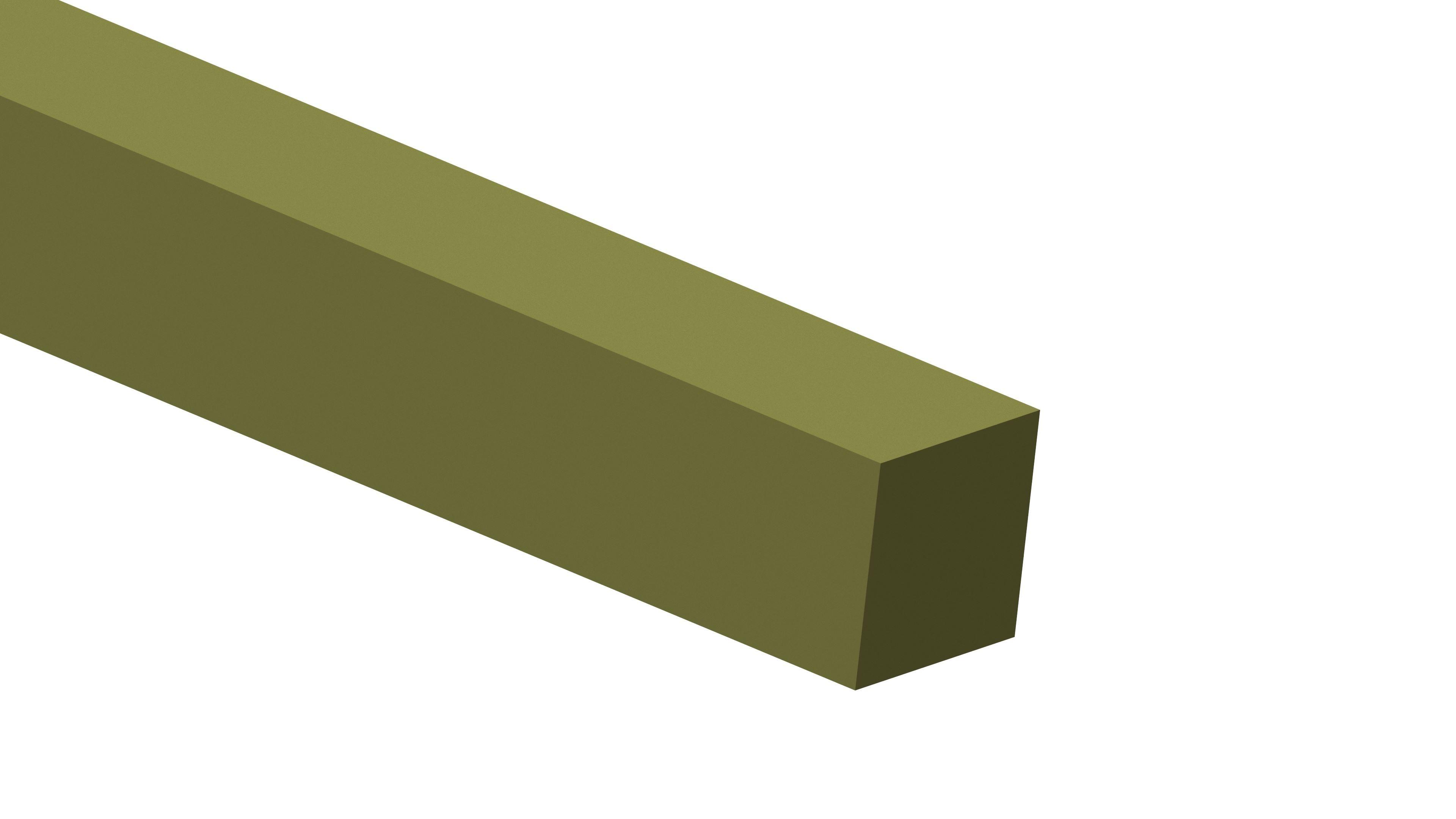 Titan-Vierkantmaterial