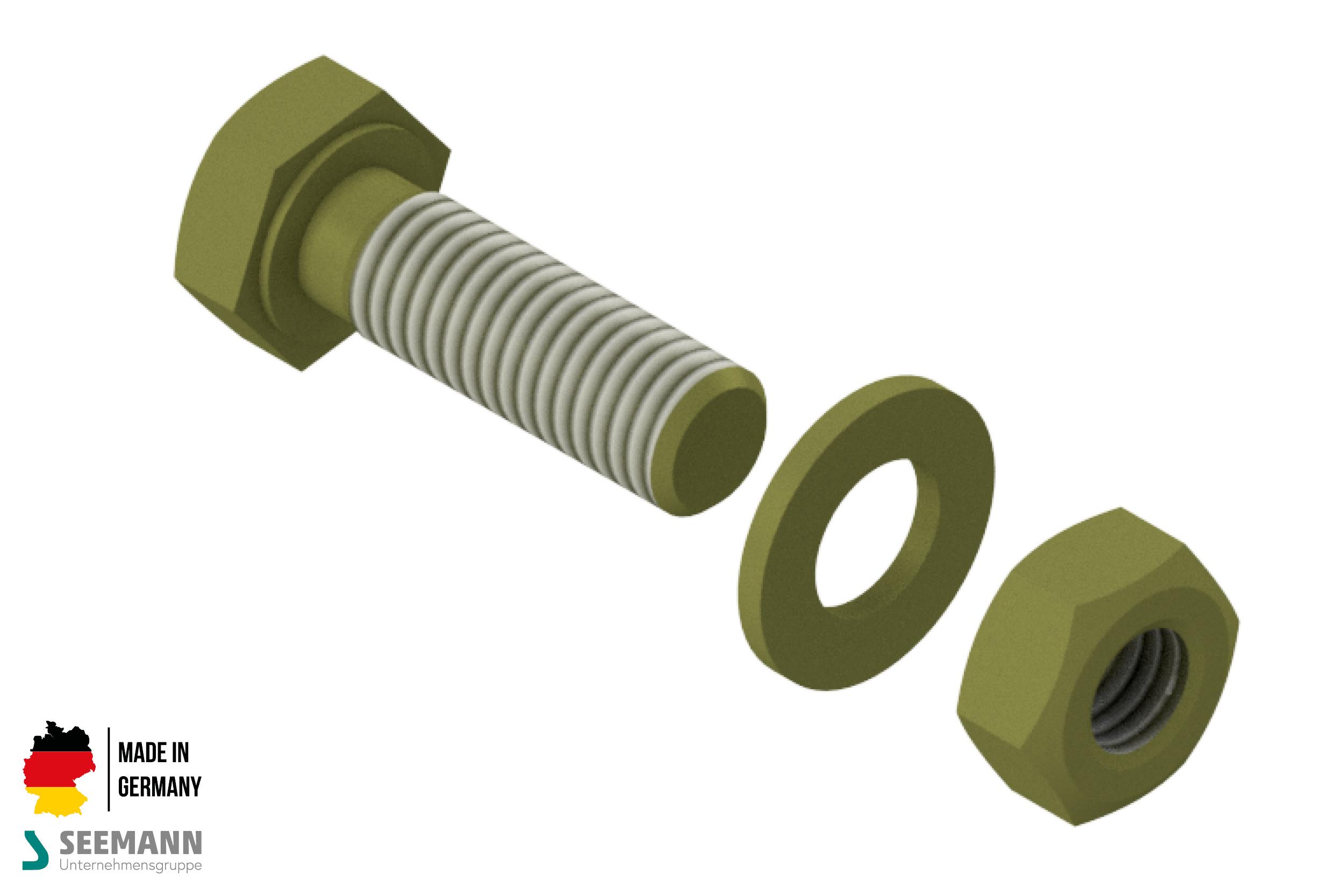 Titan-Ersatzschraubensatz für Titanteller