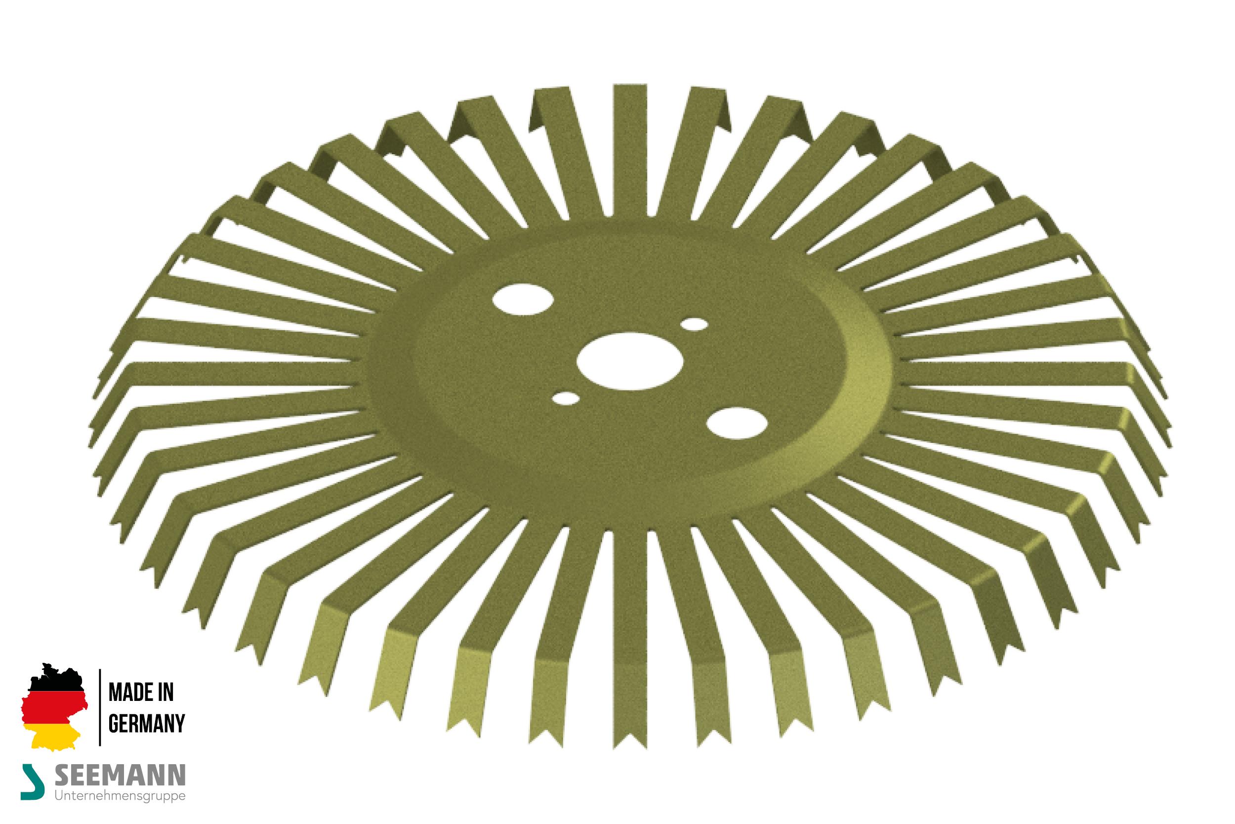 Titan-Stanzteller mit 40 Kontakten für Wechselflansch