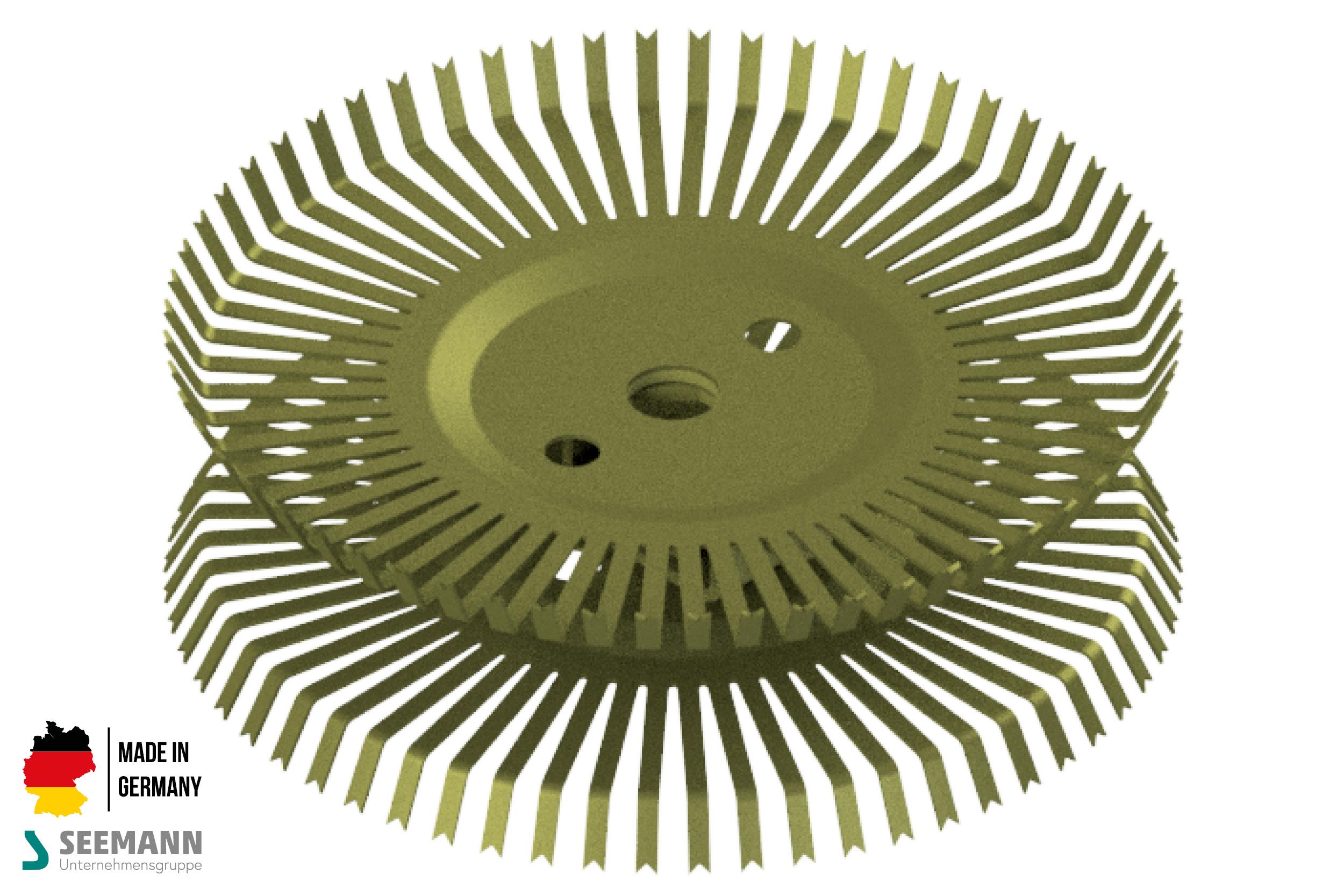 Titan-Doppel-Stanzteller mit 60+60 Kontakten