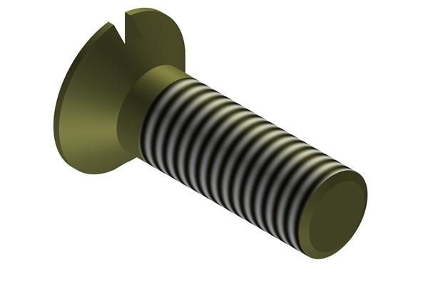 Titan-Senkkopfschrauben