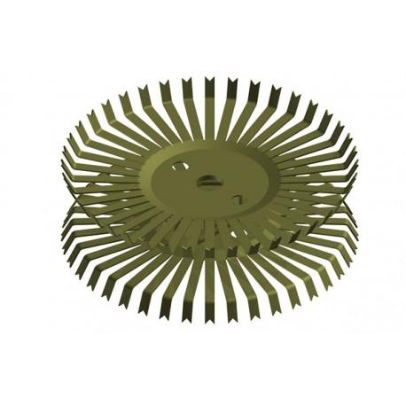 Titan-Doppel-Stanzteller mit 40+40 Kontakten