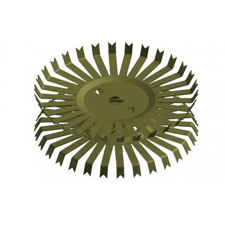 Titan-Doppel-Stanzteller mit 30+30 Kontakten